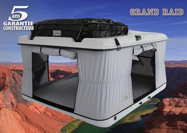 occasion tente de toit grand raid 2007