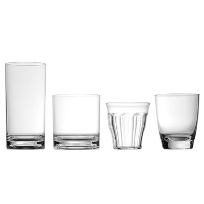 verres transparent verres plastique