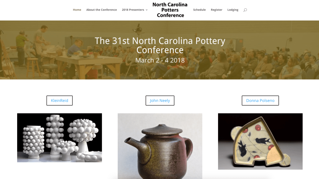 NC POTTERS CONFERENCE