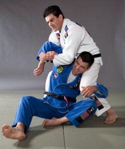 Image of two guys in a Brazilian Jiu-jitsu pose