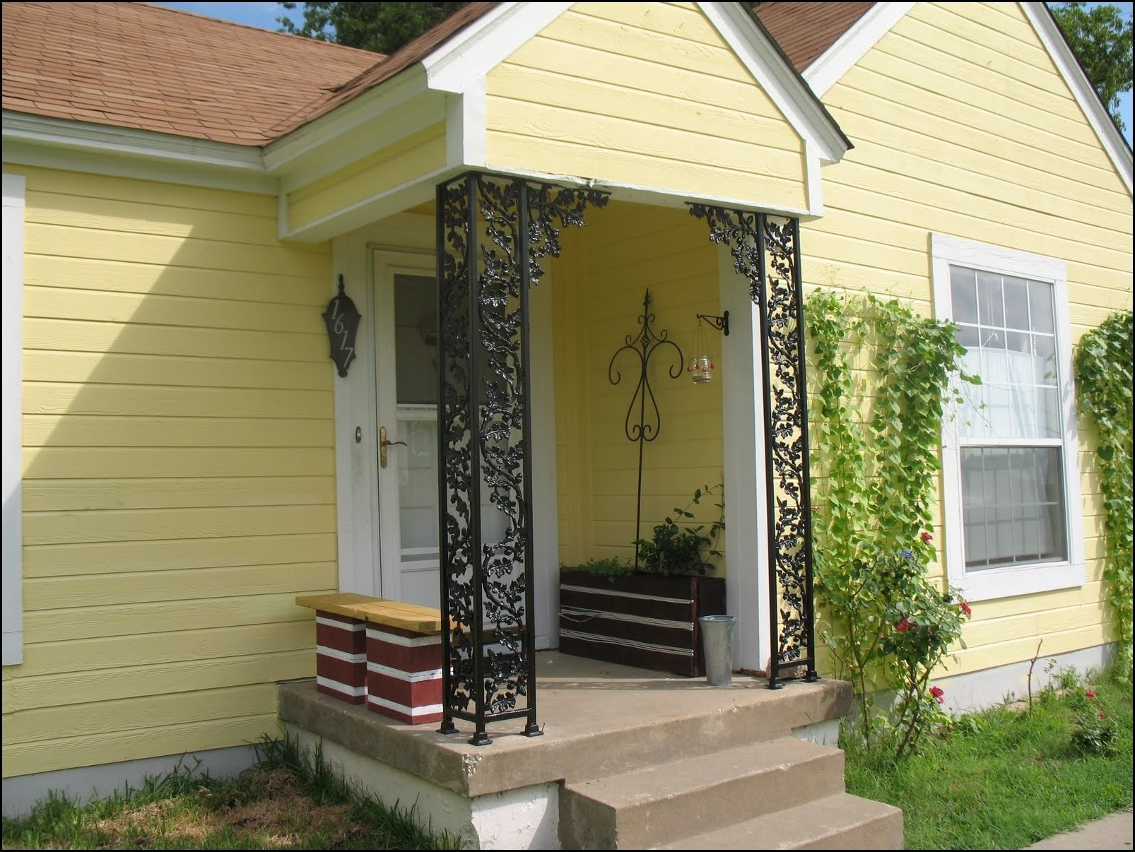Metal Porch Supports