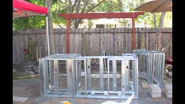 metal or wood frame outdoor kitchen — randolph indoor and outdoor design