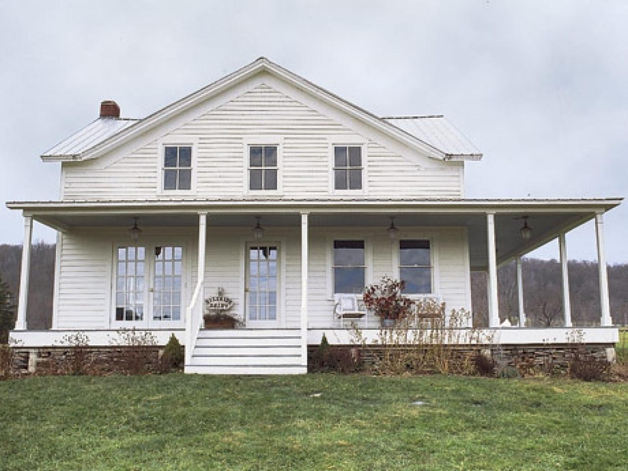 title | farmhouse with wrap around porch
