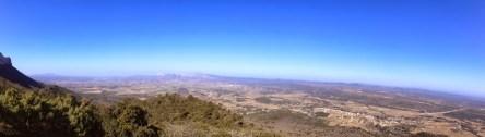 Panoramique depuis la croix de Pourcieux