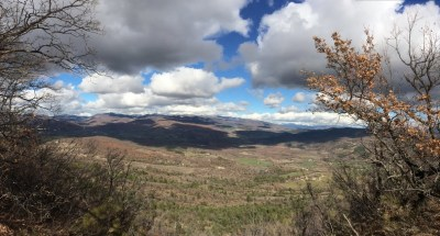 Vue sur la montagne de Lure