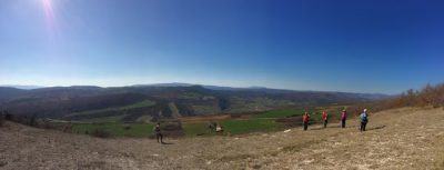 Point de vue depuis les Hautes-Plaines