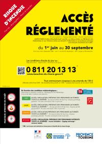 Randonnée et interdiction de circuler été 2018-2019 : Bouches-du-Rhône
