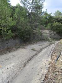 Sur les traces de l'ancien canal du Verdon, circuit du Collet Blanc