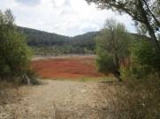 lac vu depuis la piste