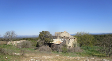 Sur le chemin de Compostelle entre Eguilles et Pélissanne
