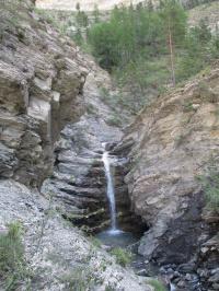 *** Les gorges de Saint-Pierre jusqu'à la cascade