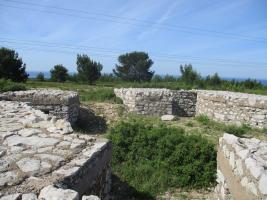 Boucle des vestiges militaires à Cavalas, Martigues