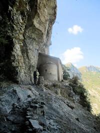 ** La chapelle Saint-Pons depuis Valbelle