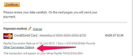 Kreditkarte bei PayPal hinzufügen