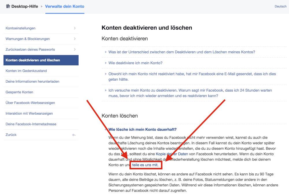Facebook Geburtstag Löschen