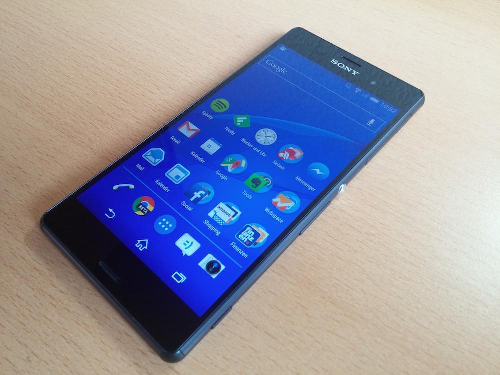 Mobilfunkprovider Branding Beim Sony Xperia Z3 Entfernen