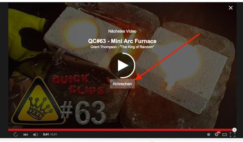 Youtube Autoplay Deaktivieren