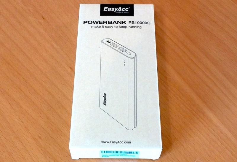 EasyAcc Powerbank PB10000C (Bild: Copyright Benjamin Blessing).
