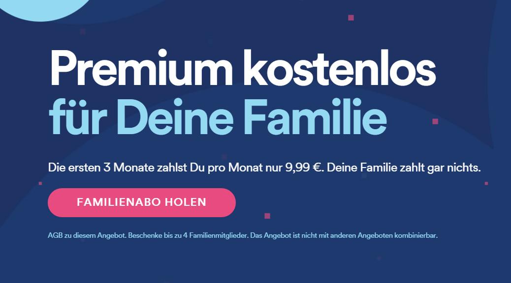 Familienabo Spotify