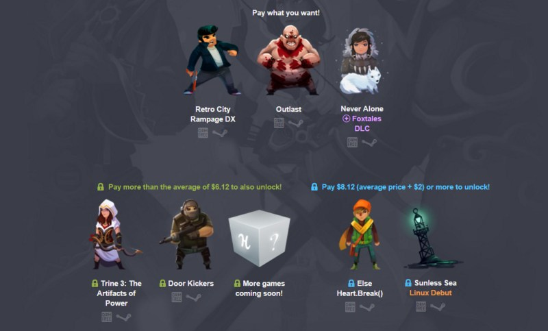 The Humble Indie Bundle 16 Spiele