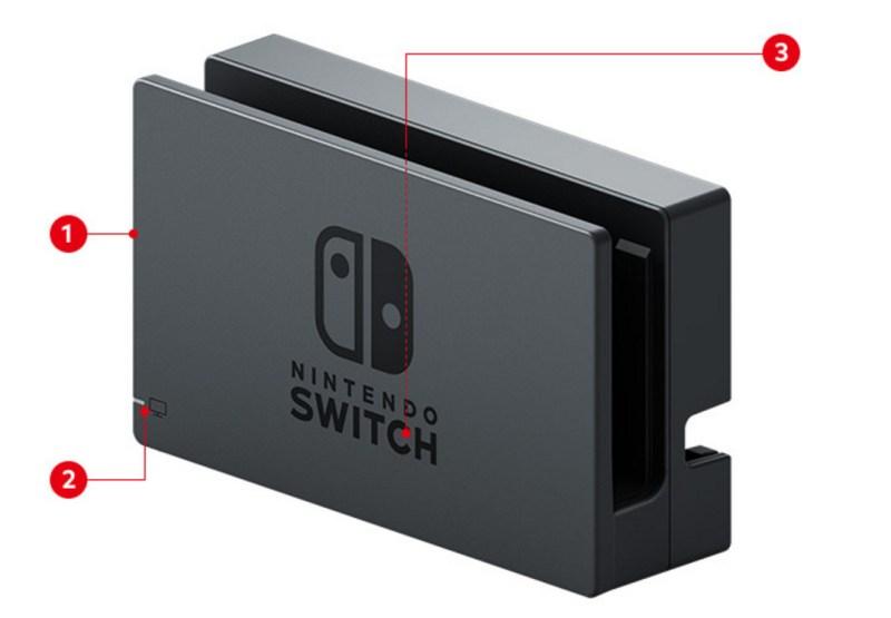 Nintendo Switch Station Vorderseite