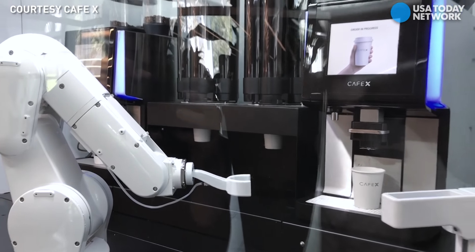 Barista Roboter für Kaffee