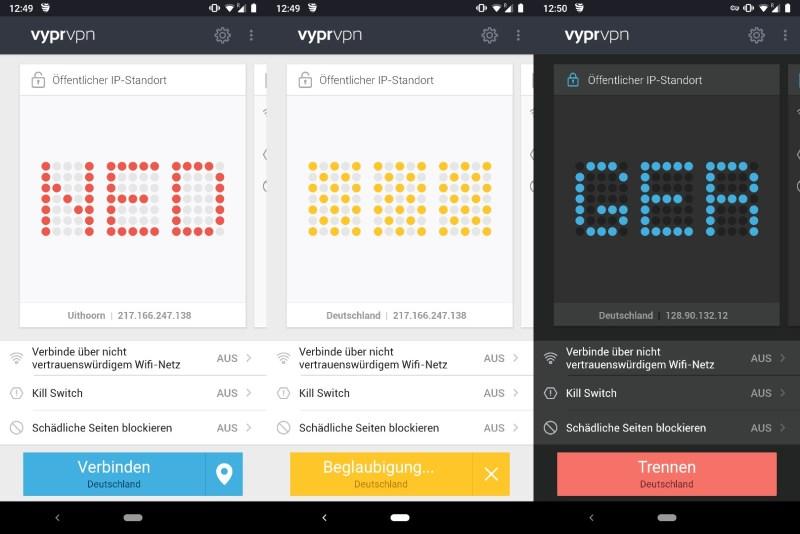 VPN für Android einrichten