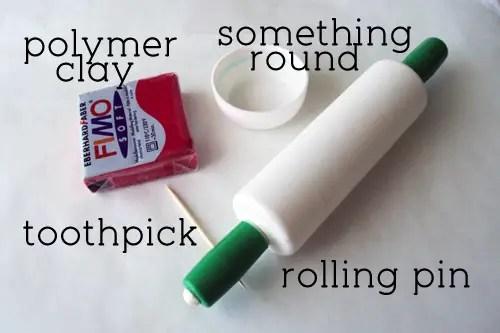 Polymer Clay Button Tutorial