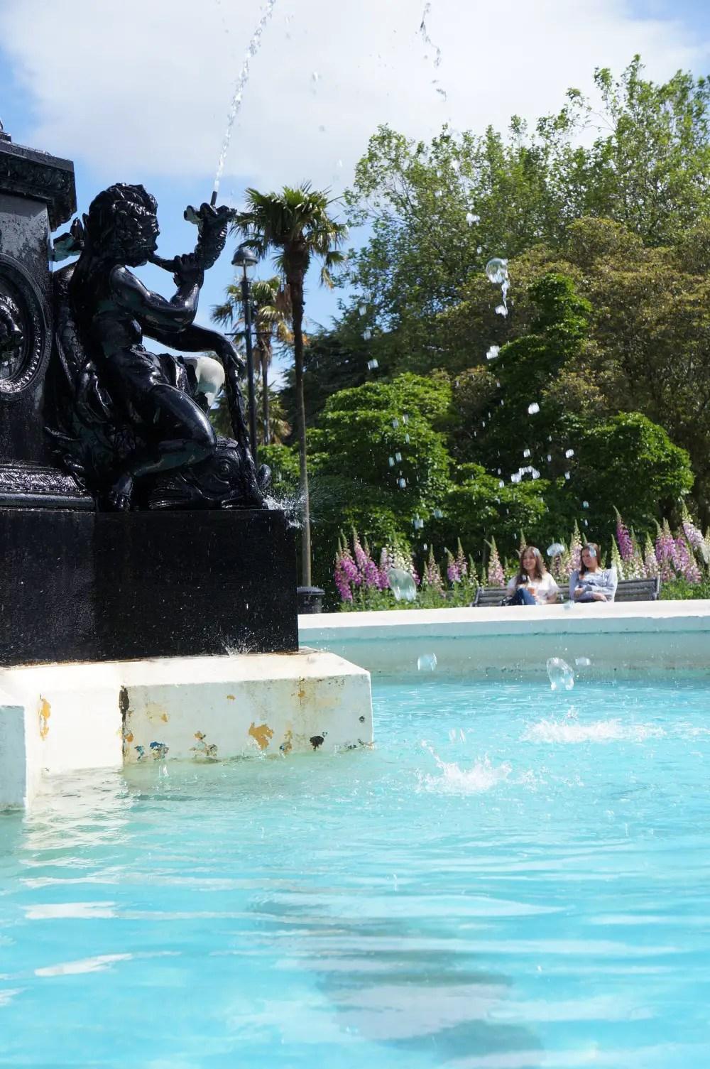 New Zealand Albert Park Fountain