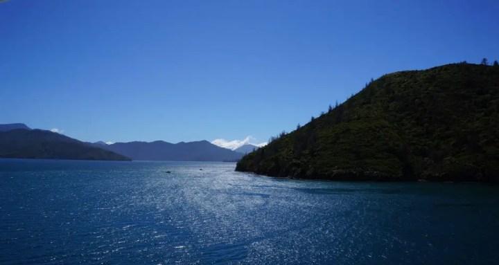 New Zealand water landscape
