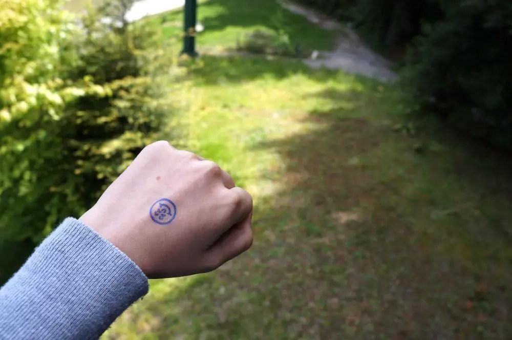 Skyline Rotorua Luge Stamp