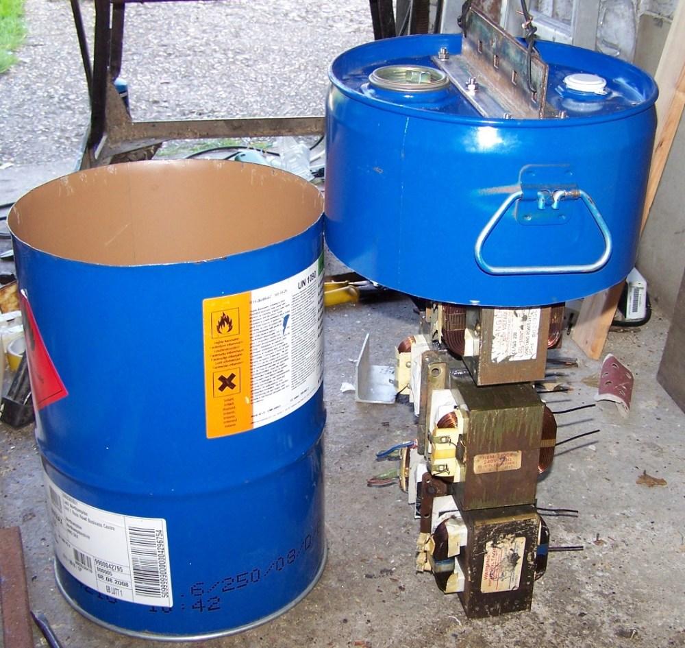 medium resolution of tranformer assembly in drum plasma cutter
