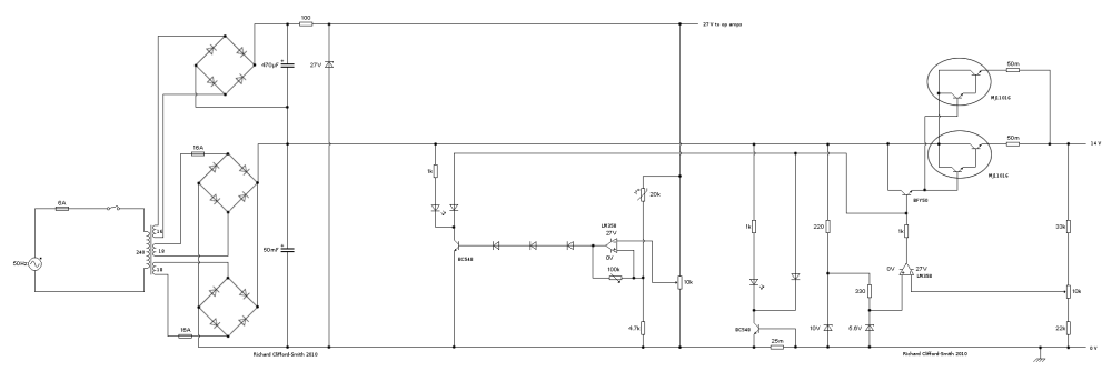 medium resolution of circuit diagram for the power supply