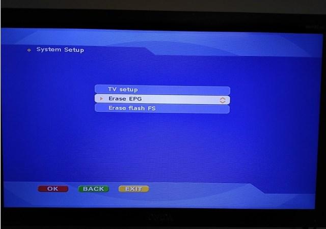 Reset Dish TV Set-top Box