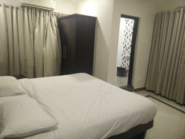 Our room at The Royal Oak, Bhatkal - Bangalore Goa Road Trip