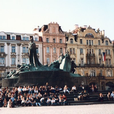 prague, jan hus, www.randomhistorywalk.com