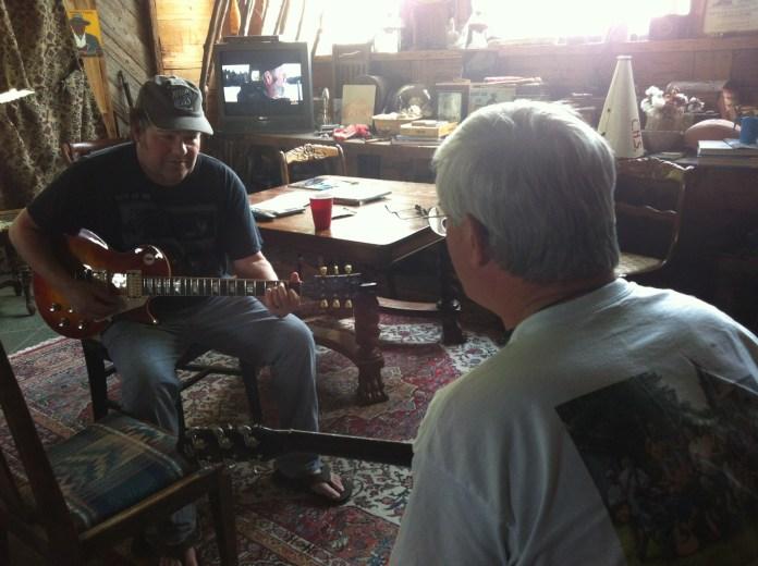 San Pedro Blues Man Returns to the Source