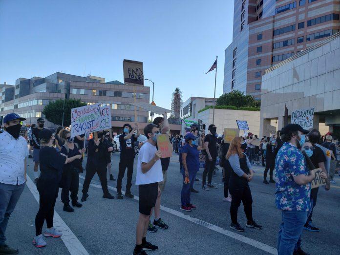 Protestors March in Defense of Portland BLM Activists