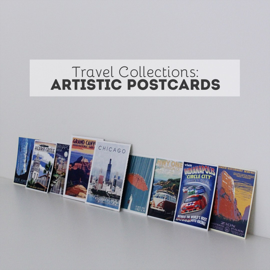 Artistic Postcard Collection - www.randomolive.com
