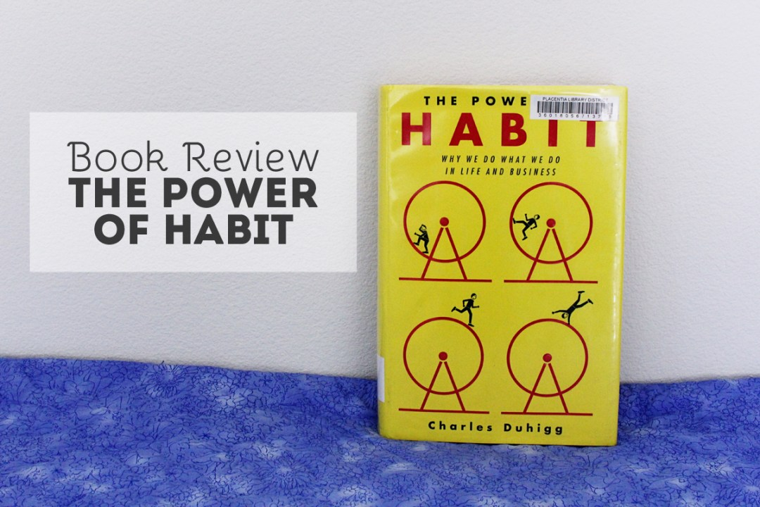 Book Review: The Power of Habit - www.randomolive.com