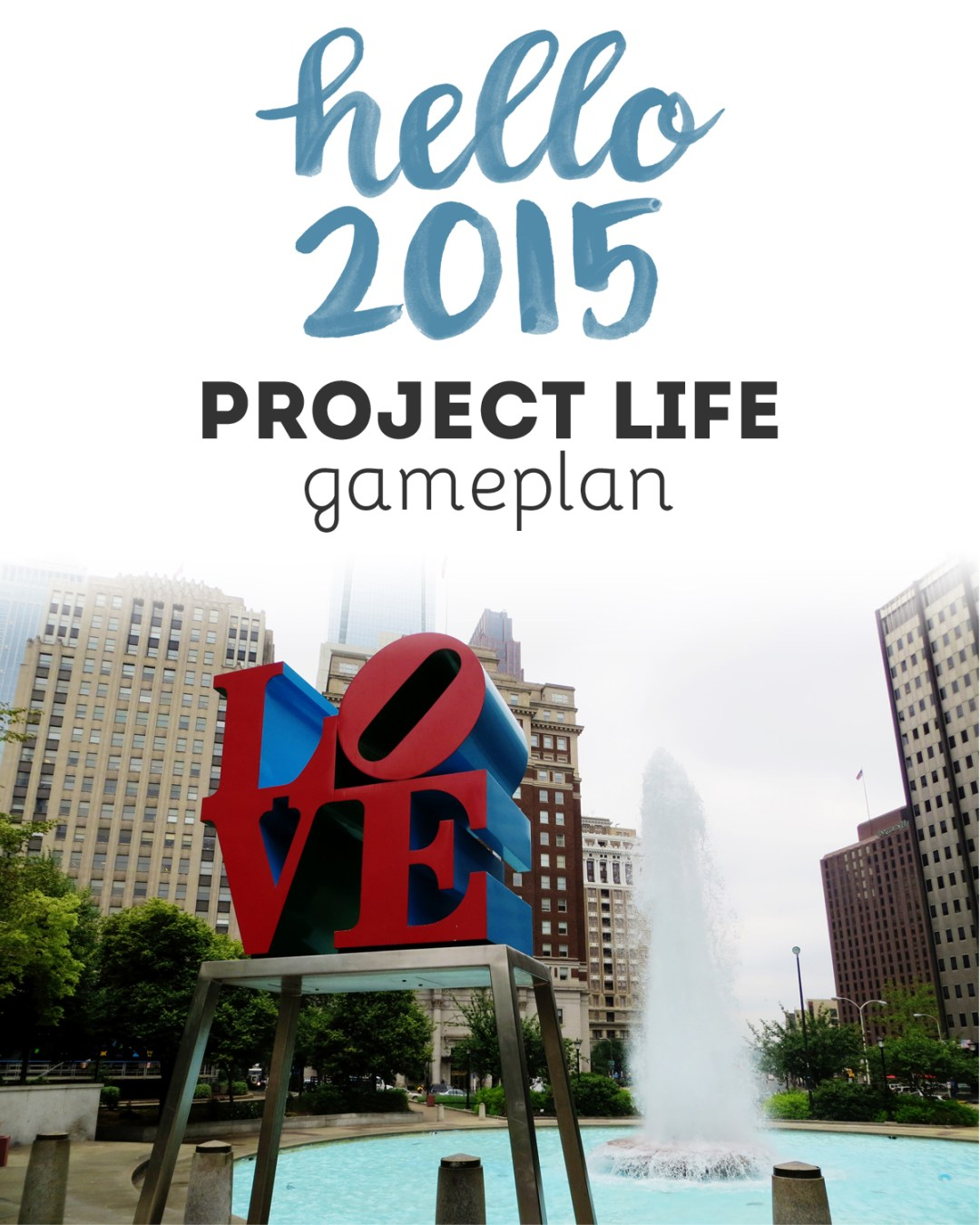 Project Life 2015 Gameplan - www.randomolive.com