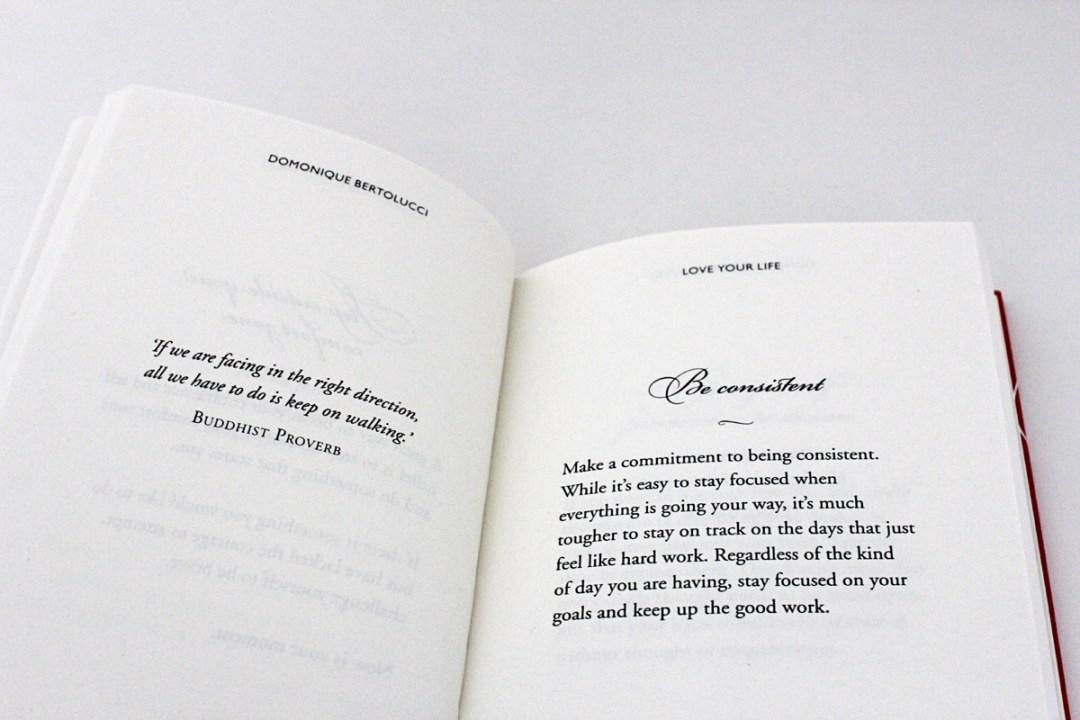 Love Your Life Book Review - www.randomolive.com