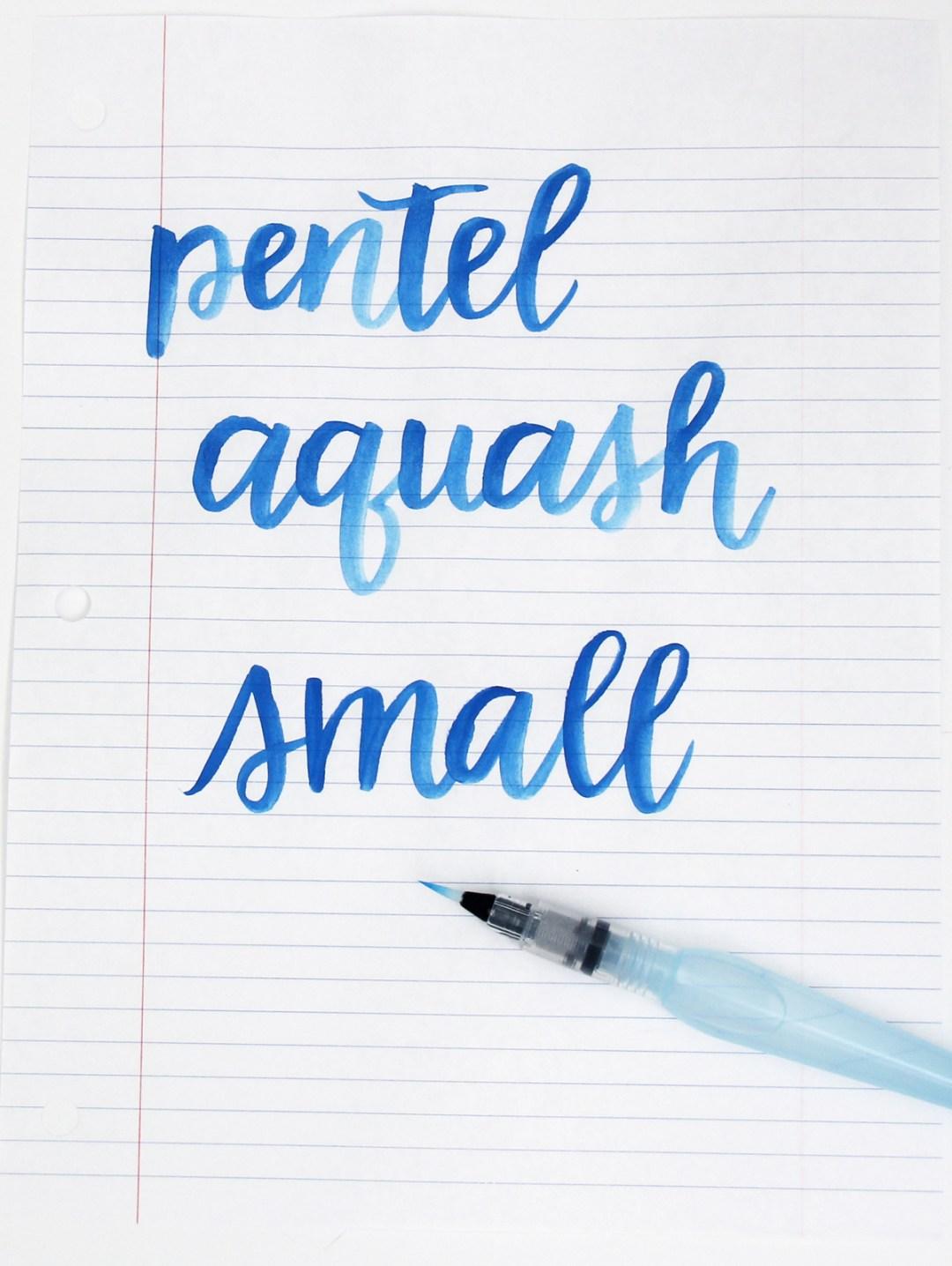 Waterbrushes for Brush Lettering - www.randomolive.com