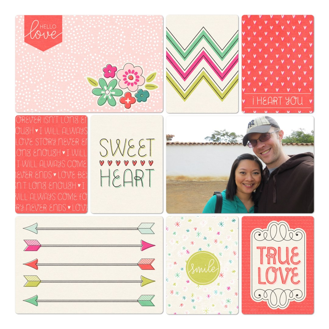 How did you put that digital scrapbook page together? - www.randomolive.com
