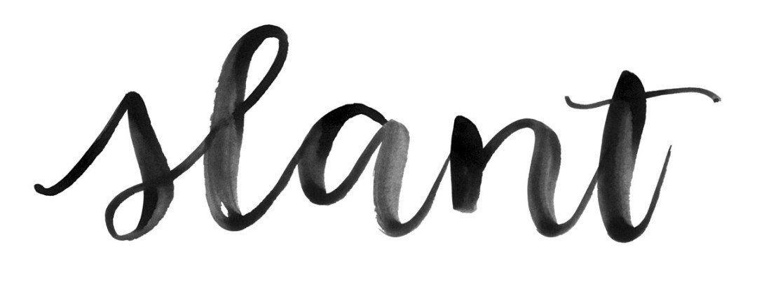 Ten ways to add variety to your brush lettering - www.randomolive.com