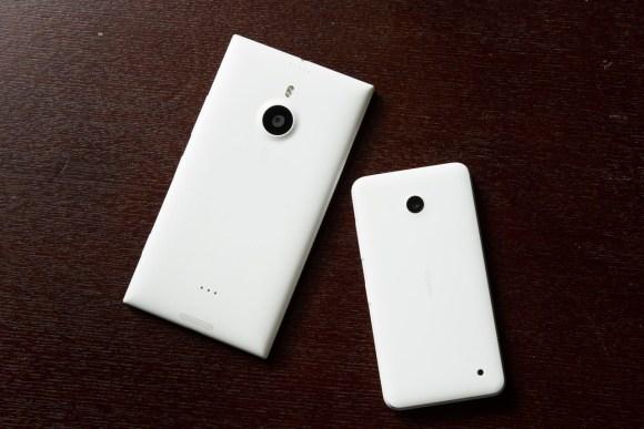 Lumia 635 and 1520 Comparison