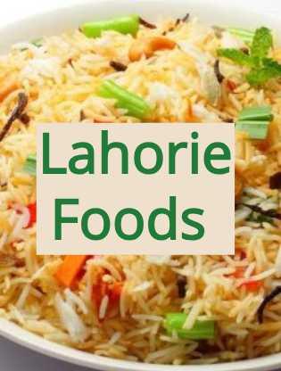 Top foods of pakistani Lahorie  people
