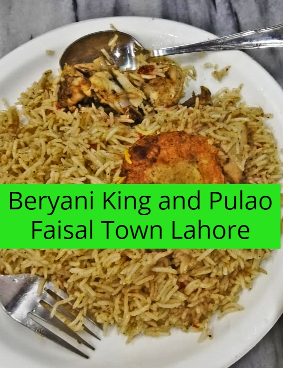 Beryani King and King Pulao