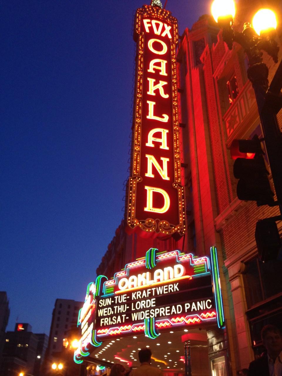 Kraftwerk at the beautiful Fox Theatre