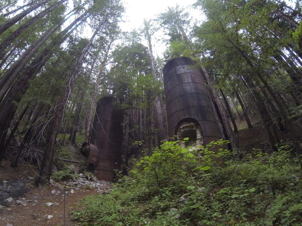 The majestic lime kilns at Limekiln State Park